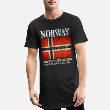 Norge Norge, Norge, Norge - Lang T-skjorte for menn