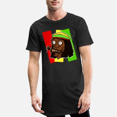 Rasta rasta - T-shirt long Homme