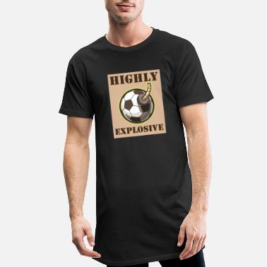 High Explosive Football Derby Mood Football Game - Men's Long T-Shirt