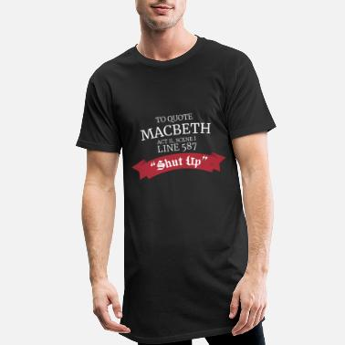 Macbeth Macbeth William Shakespeare - Männer Longshirt