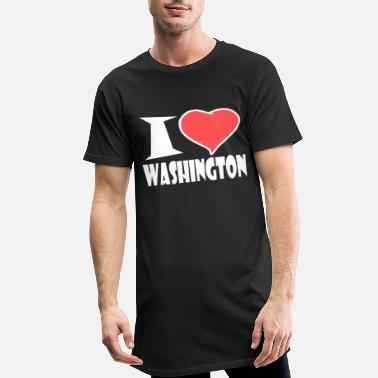 Washington Washington - T-shirt long Homme