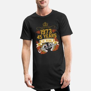 Awesome 1973 45 Years Of Being Awesome - Men's Long T-Shirt