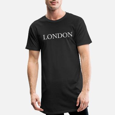 Londres Londres - T-shirt long Homme