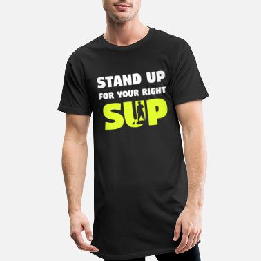 Stand Up SUP stand up paddle stand up paddle - Mannen Longshirt