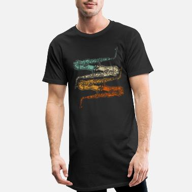 Saxophone saxophone - Men's Long T-Shirt