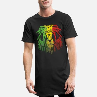 Rasta Lion Rasta - T-shirt long Homme
