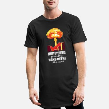 Atomic Robert Oppenheimer - Men's Long T-Shirt