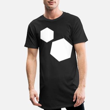 Hexagon hexagon - Men's Long T-Shirt