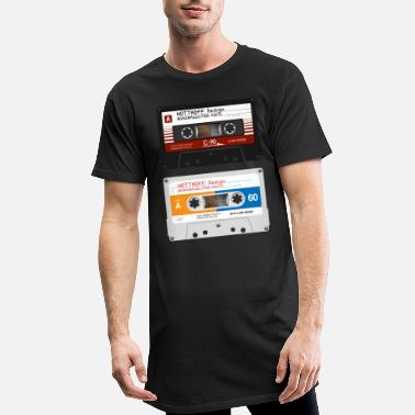 Tape Tapes Minimalectro - T-shirt long Homme