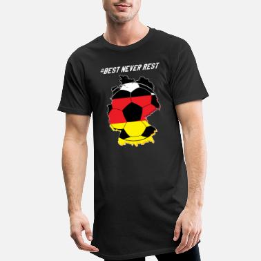 Fanshirt Fanshirt, Germany - Men's Long T-Shirt