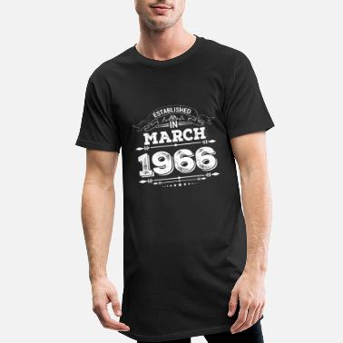 Established Established in March 1966 - Men's Long T-Shirt