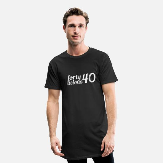 40th Birthday T-Shirts - 40th birthday - Men's Long T-Shirt black