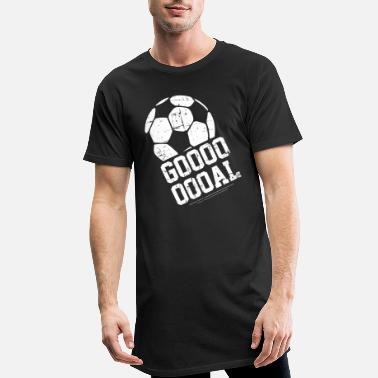 Football Football goal football fan club - Men's Long T-Shirt