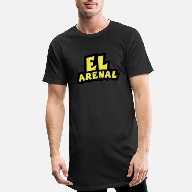 Arenal El Arenal Outline - Men's Long T-Shirt