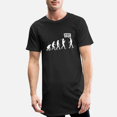 Darwin Go back we screwed up - Evolution Lustig Humor - Mannen Longshirt