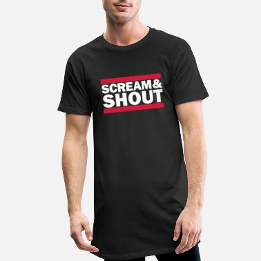 Shouter Scream&Shout - Männer Longshirt