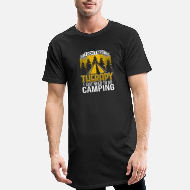 To Camp Camper Camping Camping Tent Camping - Men's Long T-Shirt