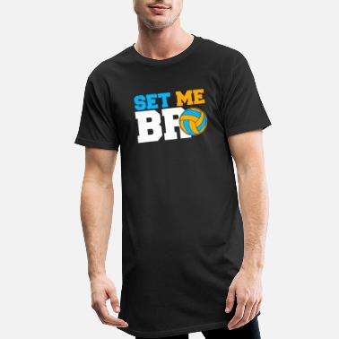 Set Set Me Bro Volleyball Set volleybalteam - Mannen Longshirt