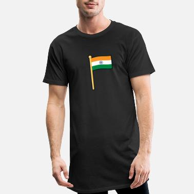 Inde Inde - T-shirt long Homme