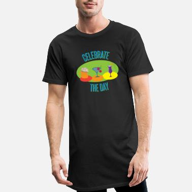 Celebrate Celebrate The Day - Men's Long T-Shirt