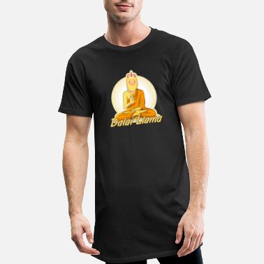 Tibeth Dalai LLama - Men's Long T-Shirt