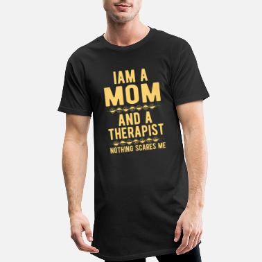 Suicide Mom Therapist: Iam a Mom and a Therapist - Men's Long T-Shirt