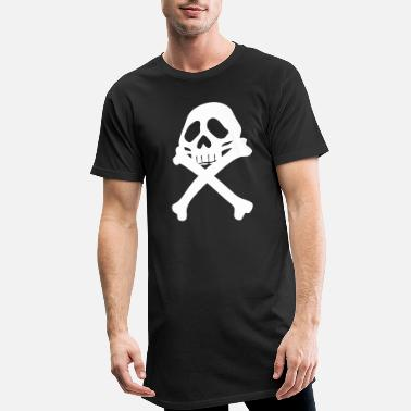 Pirate Flag Pirate flag - Men's Long T-Shirt