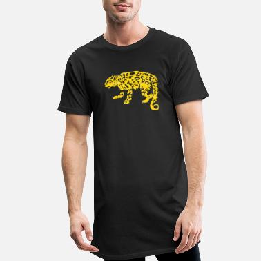 Leopard / Cheetah - Men's Long T-Shirt