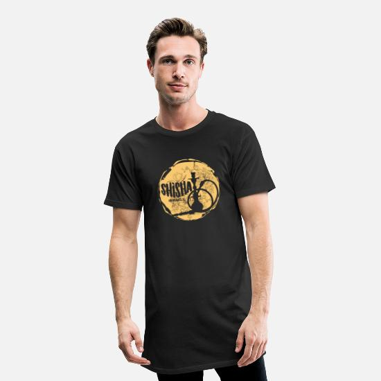 Lounge T-shirts - SHISHA! - T-shirt long Homme noir