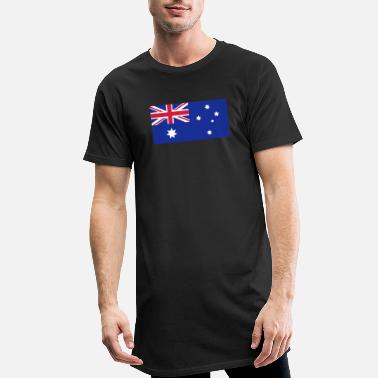 Australian Australian Flag - Men's Long T-Shirt