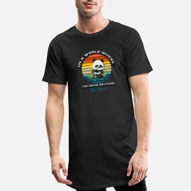 World In a world where you can be anything be kind - Men's Long T-Shirt