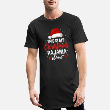 Pajamas Christmas Pajama Christmas Pajama Gift - Men's Long T-Shirt