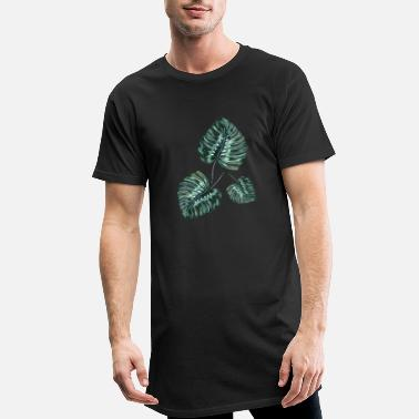 Leaf leafs - T-shirt long Homme