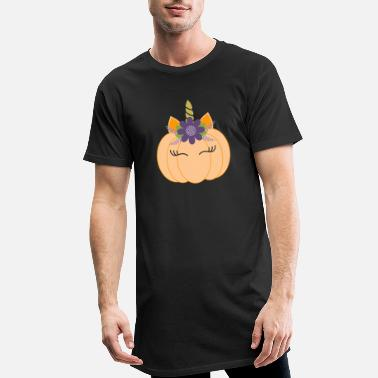 Costume Unicorn Pumpkin Crazy 2020 - Men's Long T-Shirt
