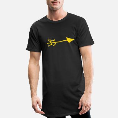 Italy Underwear Symbol - Shooting Arrow - Men's Long T-Shirt
