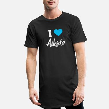 Aikido Aikido - Men's Long T-Shirt