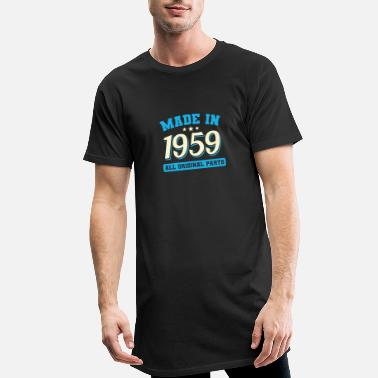 Year Of Birth 1959 year of birth - Men's Long T-Shirt