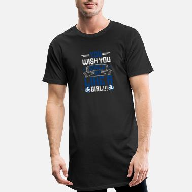 Volley Volleyball - You wish you could hit like a girl - Männer Longshirt