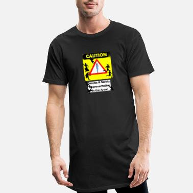 Safety Avoid Health Safety - Men's Long T-Shirt