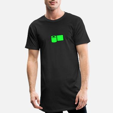 Paper Toilet paper - Toilet paper - Green - Men's Long T-Shirt