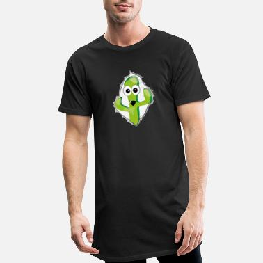 Comic Comic cactus look comic - Men's Long T-Shirt