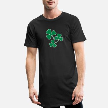 Shamrock Kleeblatt Irland Ireland Saint Sankt - Men's Long T-Shirt