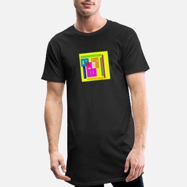 Rectangle Rectangles - Men's Long T-Shirt