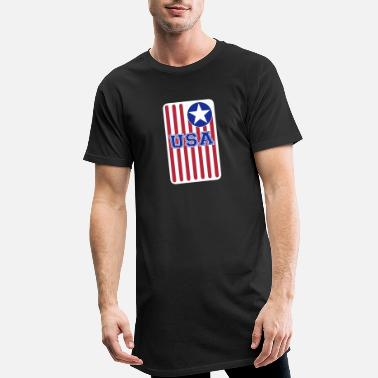 United States USA 11 - T-shirt long Homme