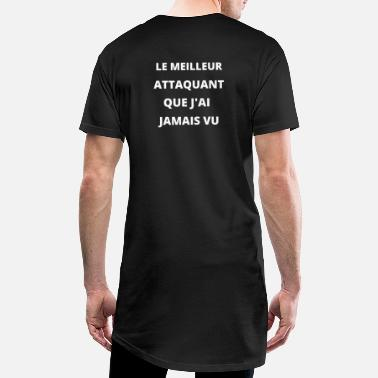 Attaquant Le meilleur attaquant - T-shirt long Homme