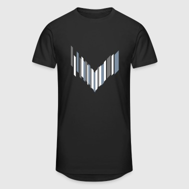 symbol of an arrow - Men's Long Body Urban Tee