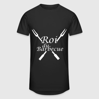 Roi du Barbecue - T-shirt long Homme