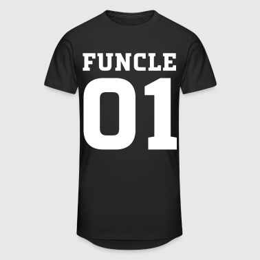 Funcle Number One | Fun Uncle Design - T-shirt long Homme