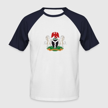 Nigeria Coat of Arms - Men's Baseball T-Shirt