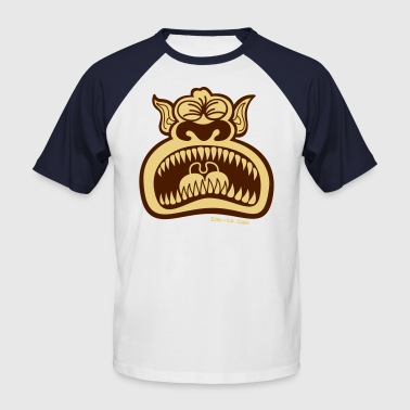 Monster Howler - Männer Baseball-T-Shirt